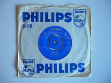 "Marty Wilde Endless Sleep 7"" Vinyl UK 1958 1st Press 1F/2F Matrix Philips Single"