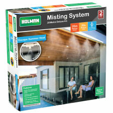 Holman Misting System for Deck Patio or Greenhouse - 20mtr - Keep Cool in Summer