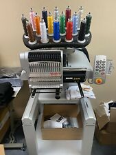 Melco Emt 16X Embroidery Machine. With A Lot Of Extras
