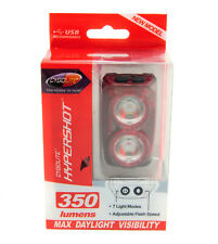 CygoLite Hypershot 350 Lumens LED Bicycle Rear Tail Light USB Rechargeable