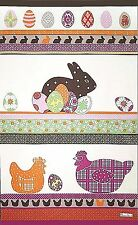 BEAUVILLE, PRINTEMPS (SPRINGTIME) FRENCH KITCHEN / TEA TOWEL, NEW - EASTER IDEAL