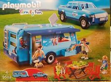 PLAYMOBIL funpark 9502 Pick-Up con Trailer NOVEDAD 2018 JEEP CAMPING