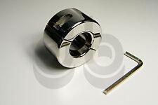 Stainless Steel Ball Stretcher 980g - Scrotum Weight Bondage CBT FFA034