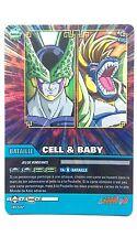 Carte Dragon ball Z Cell & Baby DB-682 Brillante / HOLO