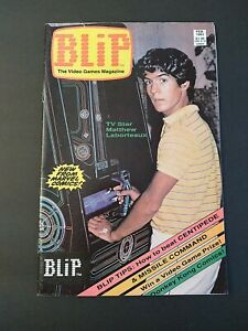BLIP #1 1983 1st Appearance Super Mario and Donkey Kong Nintendo Movie MidGrade