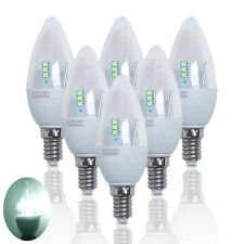 6x 5W=50w E14 LED Candle Light Bulbs Spotlight Day White Lamp Energy Saving SES