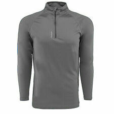 Reebok Men's Play Dry 1/4 Zip Jacket Graphite M