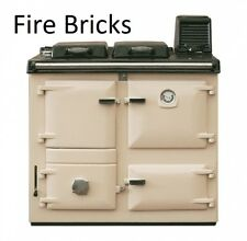 Rayburn Nouvelle/Supreme Fire bricks set of 7 firebricks 355sfw clay cooker