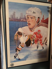 PAVEL BURE * RUSSIAN WIND * BY B. MOHAXOB * 86/1010 * LIMITED PRINT AUTOGRAPHED