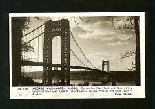 George Washington Bridge - Connecting New York and New Jersey - William Frange