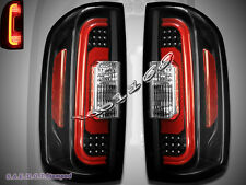 NEW 2015-2016 Chevrolet Colorado / GMC Canyon Light Black LED Tail Lights