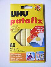 UHU. PATAFIX  80 Pastilles adhésives