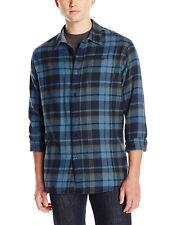 Billabong Men's Rosecrans Long Sleeve Plaid Flannel Shirt-Blue-Small