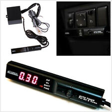 12V Red LED Digital Display Cars Turbo Timer NA Black Pen Control Unit For Ford
