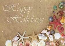 Shells and Starfish - Box of 14 LPG Tropical Christmas Cards by LPG Greetings