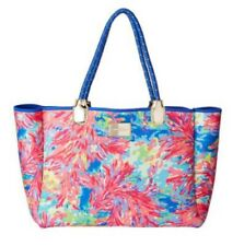 Lilly Pulitzer Neoprene Tote Bag - Palm Beach Coral (NWT)