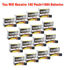 1680 Pack Duracell Coppertop Size C Batteries 1.5V C12 Alkaline Wholesale Fresh