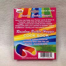 Hott Products Rainbow Men's Huggie Sock Pride LGBT Birthday Bachelor Party Gift
