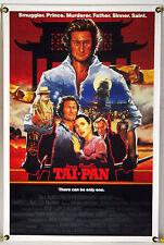 TAI-PAN ROLLED ORIG 1SH MOVIE POSTER BRYAN BROWN JOAN CHEN JAMES CLAVELL (1986)