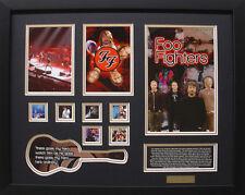 Foo Fighters Limited Edition Framed Memorabilia (b)