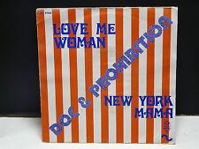 DOC PROHIBITION Love me woman / New York mama AC 47409 FRANCE