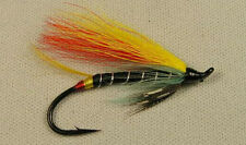 Black Doctor  (hairwing)   2/0  Salmon Hook