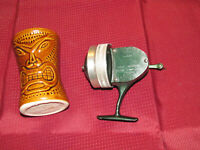 Vintage Shakespeare WONDER SPIN No.1780 Spincasting Open Face Fish Reel >Unique!