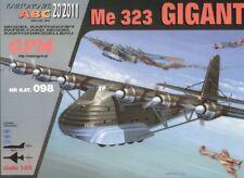 ME 323 GIGANT huge paper card model 168cm wingspan 1:33 scale