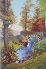 29708 AK Photochromie Nr. 4941 Brücke im Triebischtal bei Meißen 1932