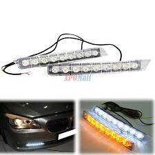 9-LED Daytime Running Light DRL Fog Lamp Day Lights Daylight 12v For All Car