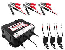 3 Bay 6/12v 2A Float Charger for Auto & Marine Battery 2 YEAR WARRANTY