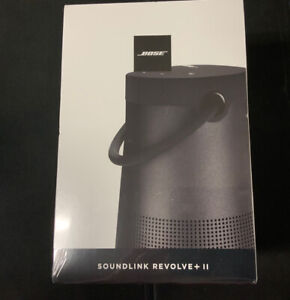 New! Bose Soundlink Revolve  + Plus  ll Black Sealed