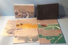 01 2001 Audi TT Roadster owners manual