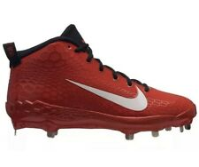 AH3373-601 Nike Force Zoom Trout 5 Baseball Cleats Red Black Metal Men's 10.5