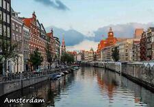 AMSTERDAM NETHERLANDS TRAVEL SOUVENIR FRIDGE MAGNET 2 #fm17