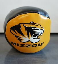 "MIZZOU Tigers Hacky Sack 2"" Footbag Football Black & Gold Missouri University MU"