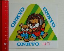 ADESIVI/Sticker: ONKYO HI FI (180616154)