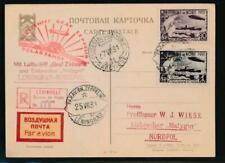 RUSSIA GRAF ZEPPELIN POLAR FLIGHT JULY 25, 1931
