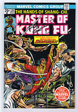 Master of Kung Fu #20 Signed w/COA By Paul GulacyGerry Conway 1974 Marvel