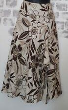 Ladies 100% Linen Wrap Style Skirt Size 8 - MONSOON