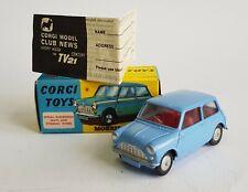 Corgi Toys No. 226, Morris Mini-Minor - Superb Pristine Mint Condition.