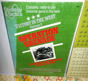 Strategy & Tactics Mag w/Game #84 Operation Grenade Battle for Rhineland '45 UNP