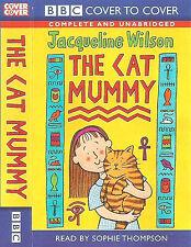 JACQUELINE WILSON THE CAT MUMMY CASSETTE READ BY SOPHIE THOMPSON UNABRIDGED BBC