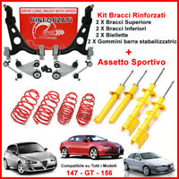 Kit Bracci Anteriori Rinforzati + Kit Assetto Sportivo Alfa Romeo GT 3.2 GTA