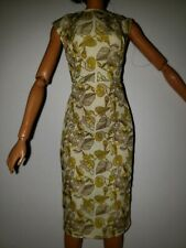 FLORAL SLEEVELESS SHEATH Dress for BARBIE COLLECTOR DOLL DRESS