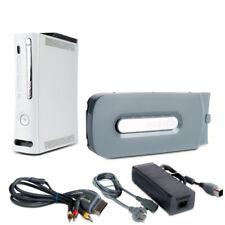 Xbox 360 Console Xenon 16,5a A Fat Blanc #1B + 60 Jaune + 3-Chinch Gris + Câble