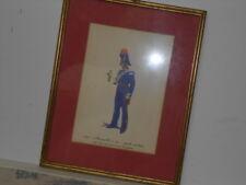 Vtg. Italian Military Museum 1834 Maresciallo a Cav. Grande MonturaFramed Print