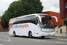 National Express liveried FJ13EBO 6x4 Quality Bus Photo
