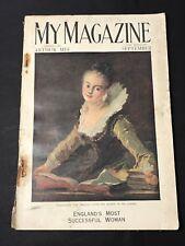 MY MAGAZINE Sept 1927 Children's Newspaper Supplement w/- Vintage Advertising