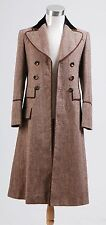 Who is Doctor Dr. Ecru Brown Long Trench Coat Costume S-3XL